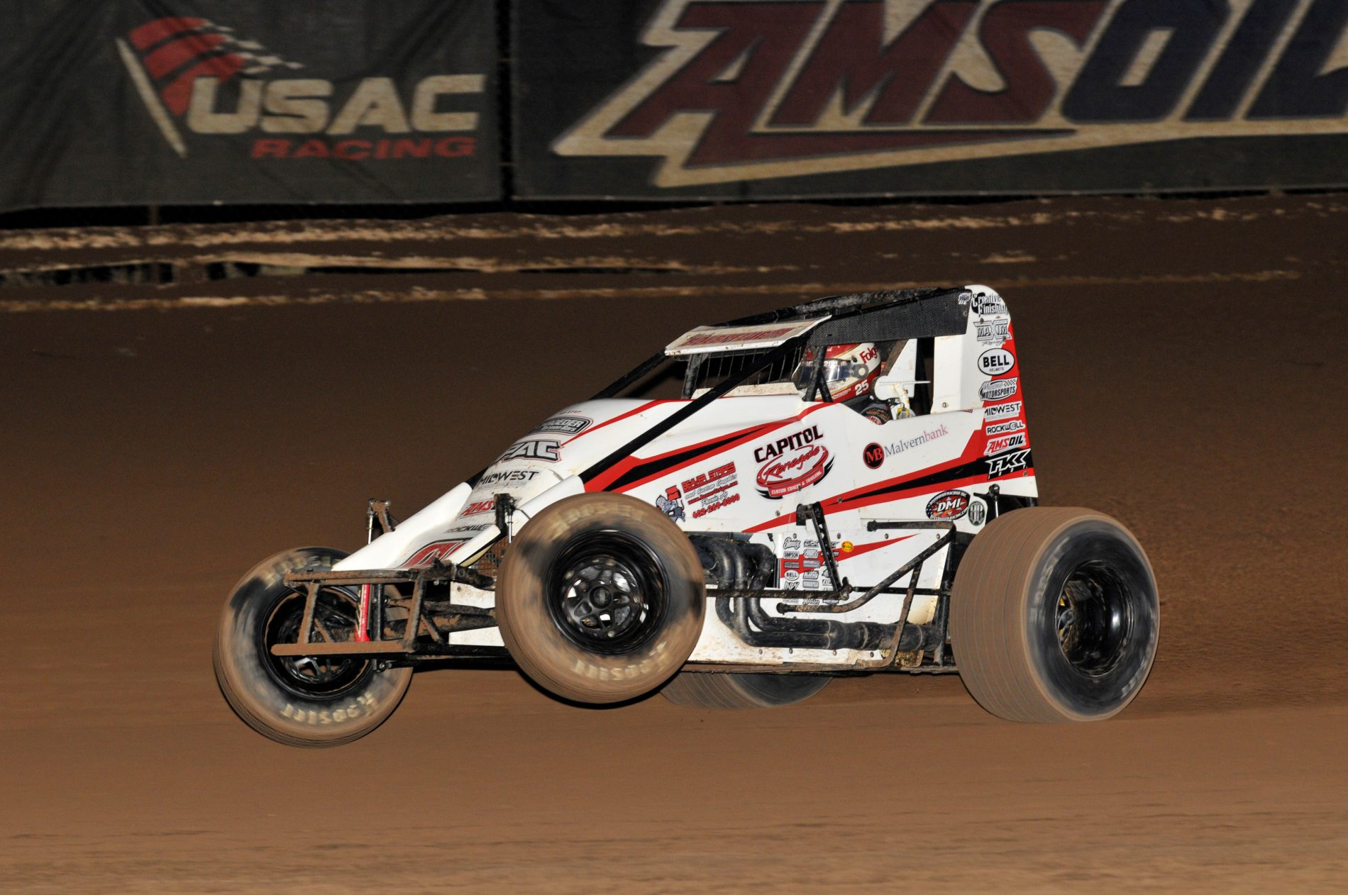 central arizona college night usac non wing sprint cars – arizona